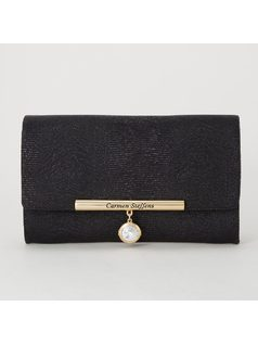 WALLET WITH CRYSTAL DETAIL front