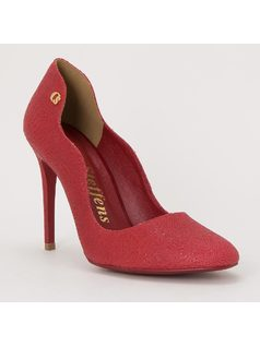 STILETTOS WITH PERSONALIZED METAL
