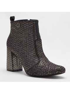 ANKLE BOOT WITH SHINY PRINT front