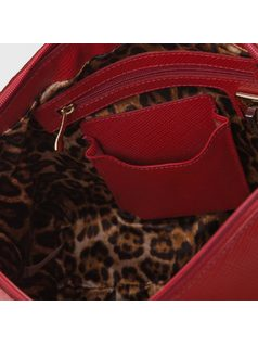 Handbag with bow