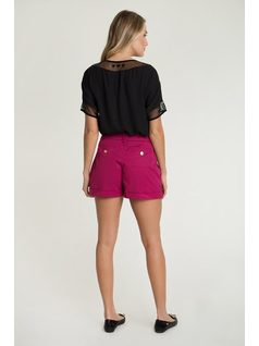 Shorts with pockets back