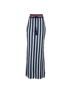 Maxi stripped skirt