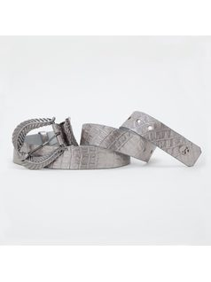 LAURELS BUCKLE BELT front