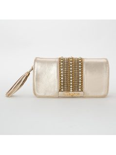 WALLET WITH APPLIQUE front