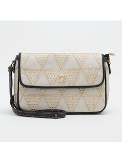CROSSBODY WITH METAL STUDS front
