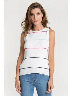TRICOT TANK TOP front