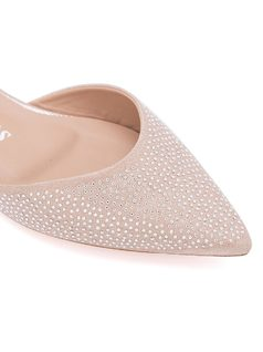Slip on with crystl studding back