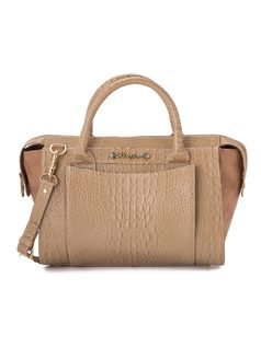 Handbag with front pocket