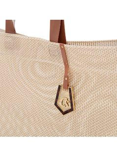 Mesh beach bag back