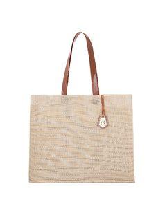 Mesh beach bag front