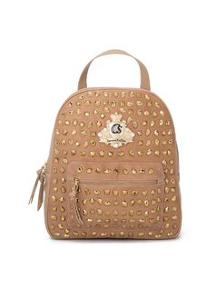 Backpack with crystals front