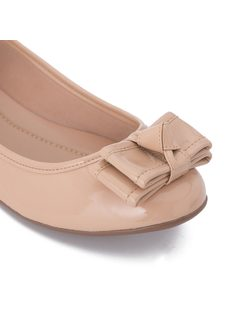 Ballerina flat with bow back