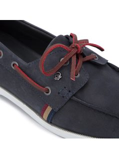 Boat shoes wiyh lace back