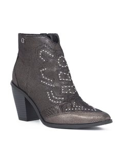ANKLE BOOT CON METALES front