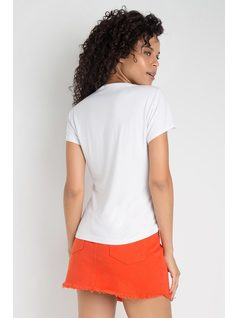 T-SHIRT CON BORDADO back