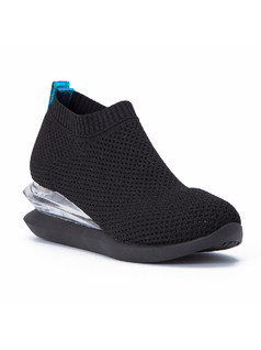 High-Top Stretchy Knitting Sock Sneakers front