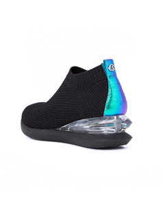 High-Top Stretchy Knitting Sock Sneakers back