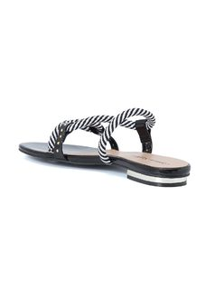 SLIP IN FLAT SANDALS back