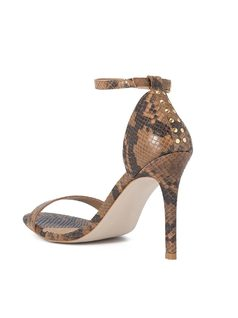 HIGH HEELED SANDALS back