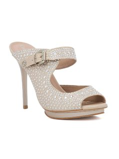 HIGH HEELED PEEP TOE front