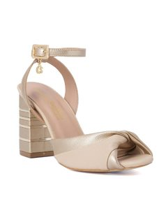 SQUARED HIGH HEELED SANDALS front