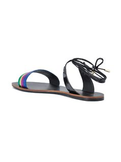 FLAT SANDAL WITH ANKLE STRAP back