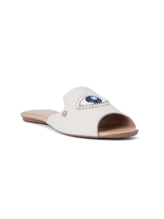SLIP IN FLAT SANDALS front