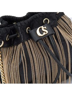 BUCKET BAG WITH CHAINS back