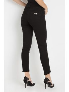 SKINNY PANTS WITH EMBROIDERY back