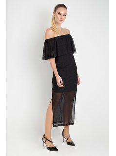 OFF SHOULDER DRESS front