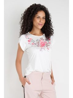 BLUSA ESTAMPA E HOT FIX front