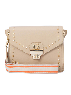CROSSBODY BAG WITH FABRIC STRAP front
