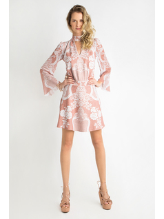 SHORT DRESS WITH SLEEVES front