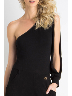 ONE SHOULDER JUMPSUIT