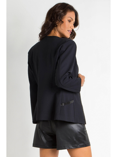 BLAZER WITH STRASS back