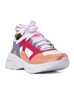 Sneaker Pink Colors front