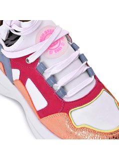 Sneaker Pink Colors back