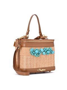 Embroidered Bag front