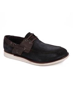Zapato marino con cordones front