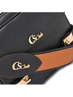 Shoulder Bag with extra pockets back