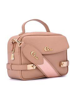 Shoulder Bag with extra pockets front