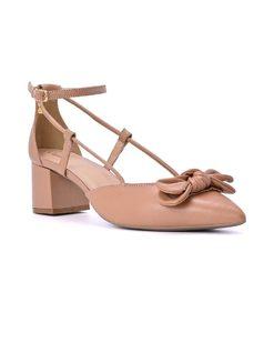 Sapato em Pele  com Laço front