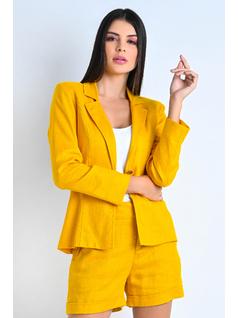 Blazer Amarelo com Aplicação back