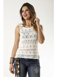 BLUSA TRICOT BLANCA front