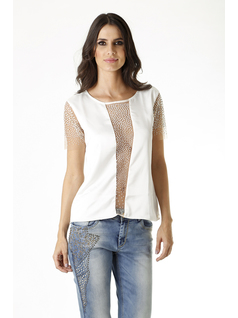 BLUSA BLANCA front