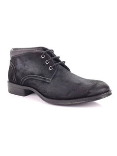 Black Men's Shoe back