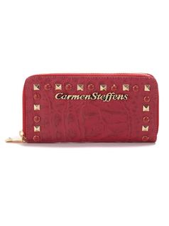 Raspberry Wallet with Zipper front
