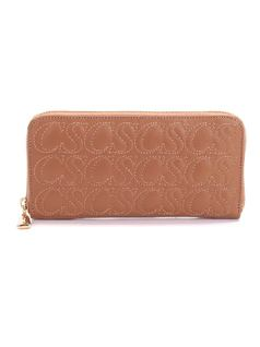 Caramel Leather Wallet front