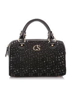 Black Shine Handbag front