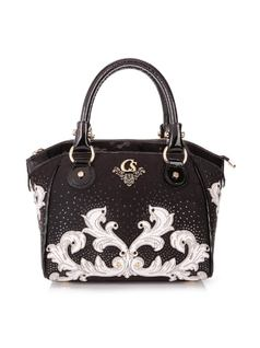 HANDBAG WITH LASER DESIGN front